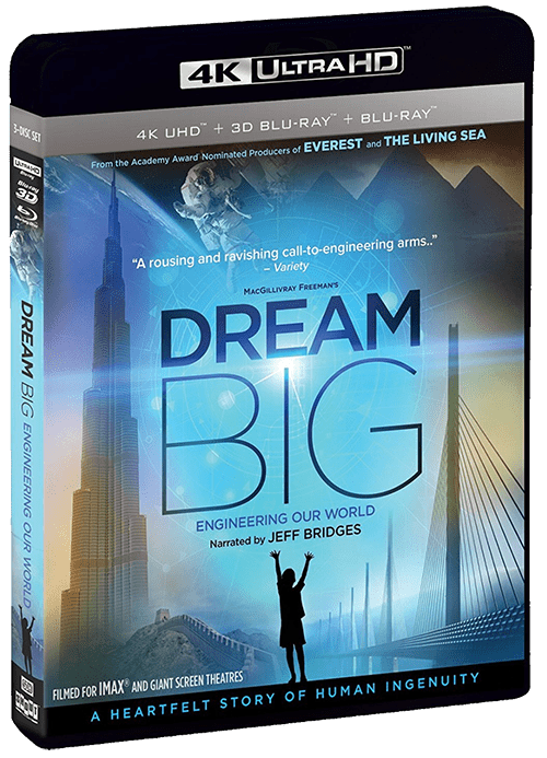 Dream Big: Engineering Our World 4K 2017 Ultra HD 2160p