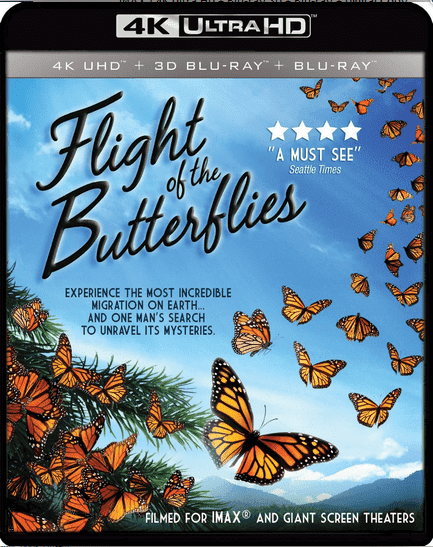 Flight of the Butterflies 4K 2012 DOCU Ultra HD 2160p
